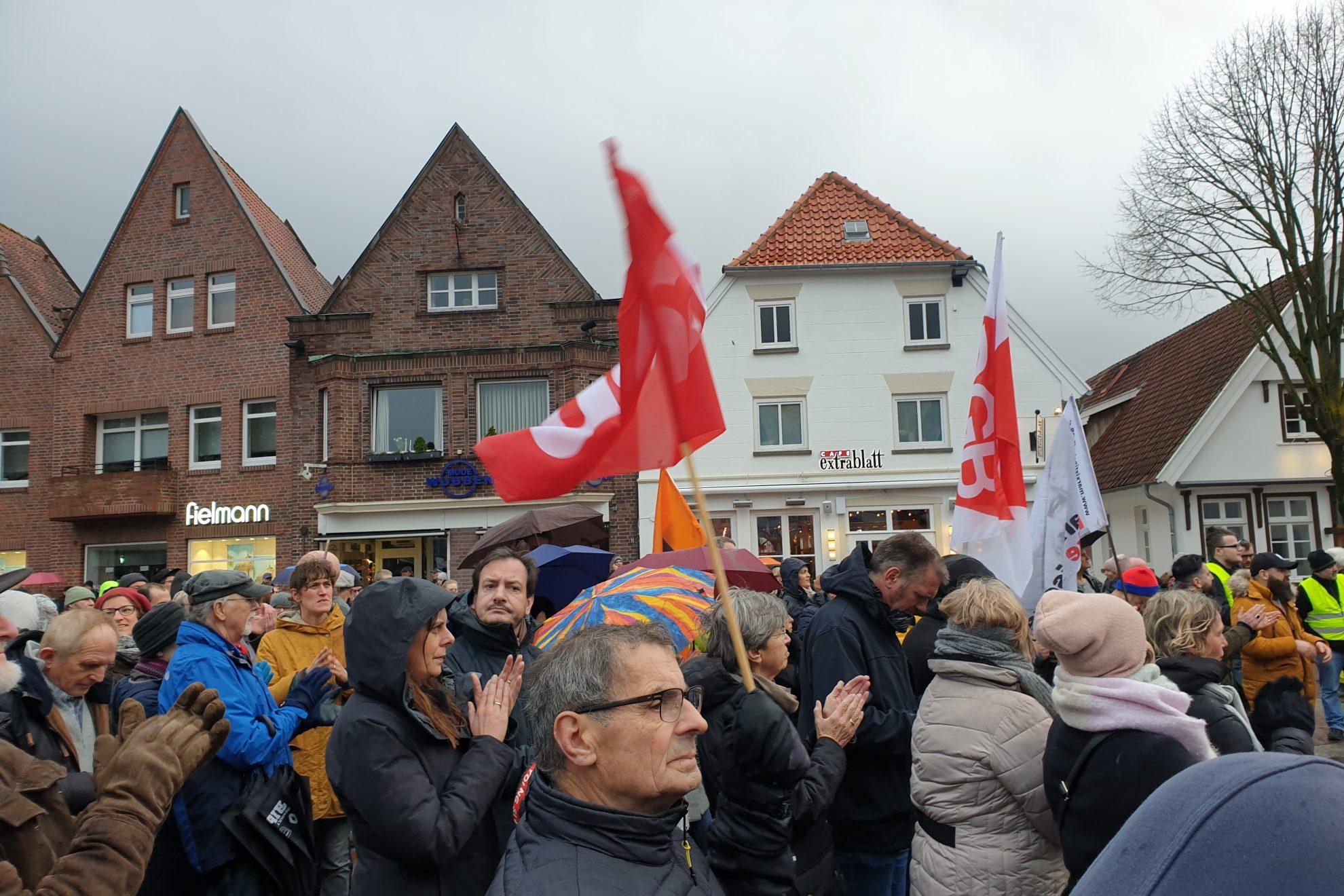 Mahnwache in Lingen